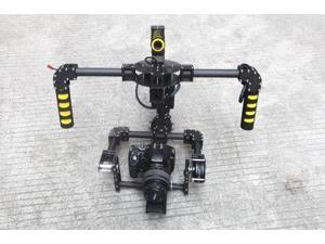 3-Axis Carbon Camera Brushless Gimbal handle gimbal/Stabilized Mount Run Movie