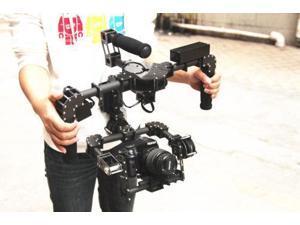 Basecame 32bit 3-Axis Handle Gyro steady gimbal for DSLR 5D mark II camera