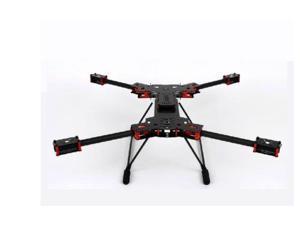 H4 680mm Alien Carbon Fiber Folding Quadcopter Frame Kit w/Landing Gear for FPV