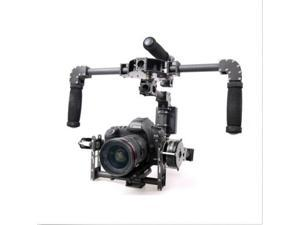 New 3-Axis DSLR Camera Carbon Brushless Gimbal Handle/Stabilized Mount steadycam