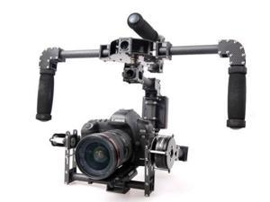 3 axis DSLR Glassy Carbon Fiber Handle Brushless Gimbal w/5208 Motor Movie photo