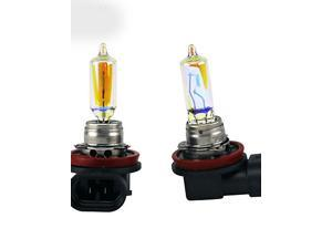 Golden Eyes Automotive XENCN H9 12V 65W 2500K All Season Super Yellow Light Halogen Car Bulbs HeadLamp