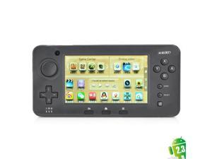 "Shanhai JXD S603 4.3"" Resistive Screen Android 2.3.4 Game Console w/ Wi Fi / Dual Camera / TF Black"