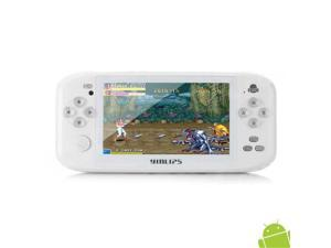 "Shanhai YINLIPS G17 4.3"" LCD Touch Screen Android 4.0 Game Console w/ TF / Mini USB / HDMI White (512MB)"