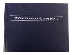 Modern Journal of Notarial Events - Soft Cover Notary Journal