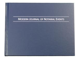 Modern Journal of Notarial Events - Hard Cover Notary Journal