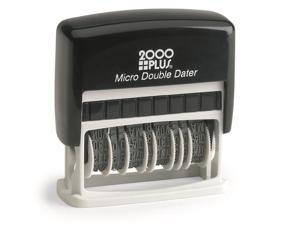 2000 Plus Micro Double Dater - Violet Ink