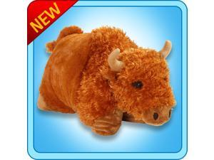 """Authentic Pillow Pets Buffalo Large 18"""" Plush Toy Gift"""