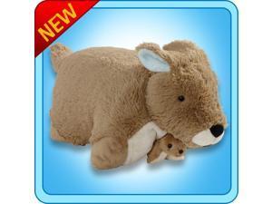 "Authentic Pillow Pets Kangaroo  Large 18"" Plush Toy Gift"
