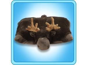 "Authentic Pillow Pets Chocolate Moose Large 18"" Plush Toy Gift"
