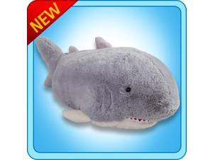 """Authentic Pillow Pets Sharky Shark Small 11"""" Plush Toy Gift"""