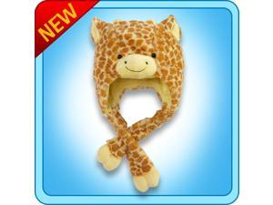 Authentic Pillow Pets Jolly Giraffe Hat Plush Toy Gift