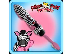 As Seen On TV Pillow Pets BrushPets Talking Toothbrush Zippity Zebra Toy Gift