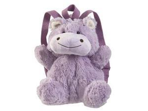 Authentic Pillow Pet Huggable Hippo Backpack Plush Toy Gift