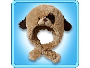 Authentic Pillow Pets Puppy Dog Hat Plush Toy Gift