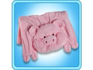Authentic Pillow Pet Wiggly Pig Blanket Plush Toy Gift