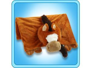 Authentic Pillow Pet Sir Horse Blanket Plush Toy Gift