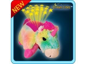 Authentic Pillow Pets Rainbow Unicorn Dream Lites JUMBO Toy Gift