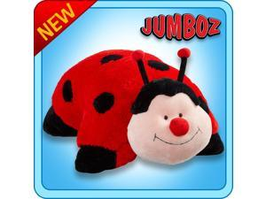 "Authentic Pillow Pets Ms. Lady Bug Huge XXL 30"" Jumboz Plush Toy Gift"