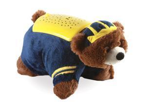 NCAA Football Michigan Univ Wolverines Pillow Pet Dream Lites Mascot Toy 5010