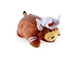 NCAA Football Texas Univ Longhorns Sport Pillow Pet Dream Lites Mascot Toy 5017