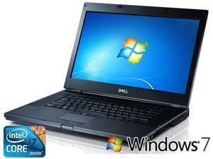 "Dell Latitude E6510 -INTEL QUAD CORE i7 1.73GHz - 15.6"" Screen - 8gb RAM - 500gb HDD, DVD-RW - Windows 7 Pro - Refurbished"