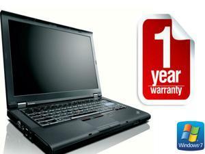 "Refurbished: Lenovo Thinkpad T410 - i5 2.4 GHz  - 14"" LCD - 4GB - 500GB - DVD-RW - Windows 7 Pro 64 - 1 YEAR WARRANTY"