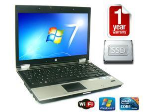 "HP EliteBook 8440p 14"" HD Screen Notebook  i5-540m 2.53GHz CPU, 8GB DDR3 RAM, 128GB SSD - DVD - Windows 7 Pro 64 - 1 YEAR WARRANTY -  WEBCAM - BLUETOOTH!"