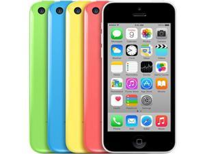 Original Apple iPhone 5C I5C IOS 8 Factory Unlocked WCDMA 3G Dual Core Mobile Phone 8GB/16GB/32GB ROM 8MP - Blue/Green/Pink/White/Yellow