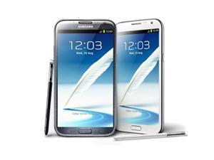 "Original Samsung Galaxy Note II 2 N7100 Android Quad Core phone 5.5"" 2GB RAM 16GB ROM 3G NF"