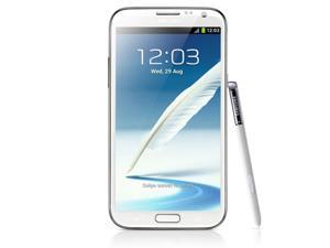 "Original Unlocked Samsung Galaxy Note 2 II  N7105 Mobile Phone 5.5"" Quad Core 8MP GPS WCDMA Smartphone"