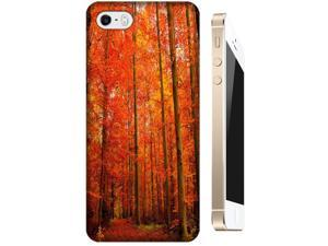 Red for Apple Accessories iPhone 5/5Sest Tree leaves beautiful Autumn cell phone cases for Apple Accessories iPhone 5/5S