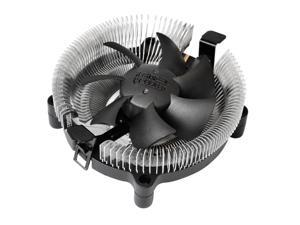Lotous® PCCooler E80 Aluminium CPU Cooler for Intel and AMD, All fins are zero-contacted with CPU, heat dissipate quickly.