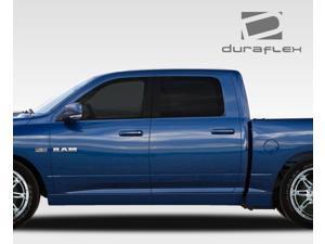 2009-2014 Dodge Ram Quad Cab Duraflex MP-R Side Skirts Rocker Panels - 6 Piece