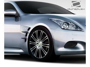 2008-2014 Infiniti G Coupe G37 Q60 Convertible Duraflex W-1 Fenders - 2 Piece