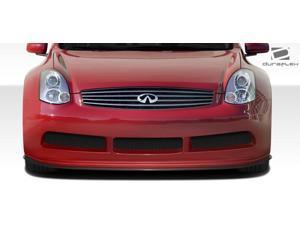 2003-2007 Infiniti G Coupe G35 2DR Duraflex GT500 Wide Body Front Under Spoiler Air Dam Lip Splitter - 1 Piece