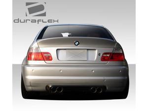1999-2005 BMW 3 Series M3 E46 2DR Duraflex CSL Look Rear Wing Trunk Lid Spoiler- 1 Piece