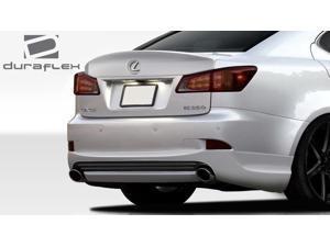 2006-2013 Lexus IS Series IS250 IS350 Duraflex I-Spec Rear Lip Under Spoiler Air Dam - 1 Piece