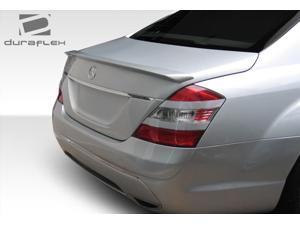 2007-2013 Mercedes S Class W221 Duraflex LR-S Rear Wing Trunk Lid Spoiler - 1 Piece