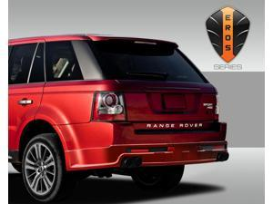 2010-2014 Land Rover Range Rover Sport Eros Version 1 Rear Lip Under Spoiler Air Dam ( side exhaust ) - 3 Piece