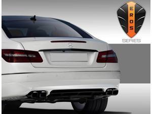 2010-2013 Mercedes E Class C207 2DR Eros Version 1 Rear Lip Under Spoiler Air Dam - 1 Piece