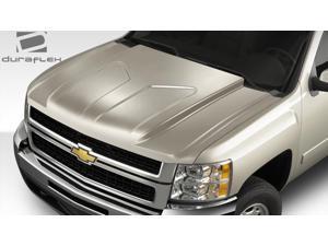 2007-2013 Chevrolet Silverado Duraflex G-Force Hood - 1 Piece