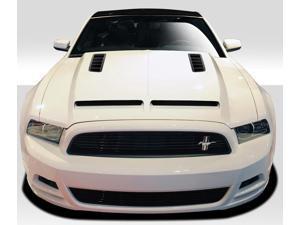 2013-2014 Ford Mustang / 2010-2014 Mustang GT500 Duraflex GT500 Hood - I Piece