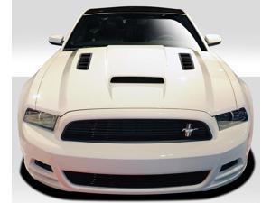 2013-2014 Ford Mustang / 2010-2014 Mustang GT500 Duraflex CV-X Hood - 1 Piece