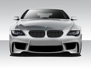2004-2010 BMW 6 Series E63 E64 Convertible 2DR Duraflex 1M Look Front Bumper Cover - 1 Piece