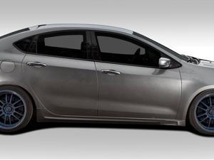 2013-2014Â Dodge Dart Duraflex Racer Side Skirt Rocker Panels - 2 Piece