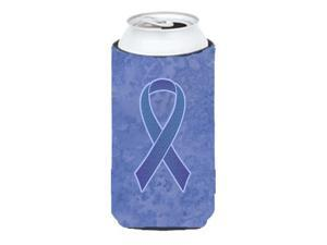 Periwinkle Blue Ribbon for Esophageal and Stomach Cancer Awareness Tall Boy Beverage Insulator Hugger AN1208TBC