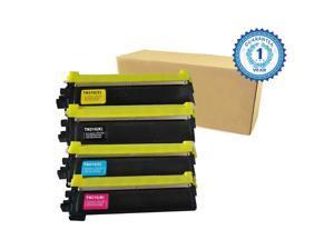 4PK TN210 TN-210BK TN-210C TN-210M TN-210Y 1 Black 1 Cyan 1 Magenta 1 Yellow (K/C/M/Y) Toner Cartridge for Brother HL-3040CN HL-3045 HL-3070CW HL-3075 MFC-9010CN MFC-9120CN MFC-9125 MFC-9325