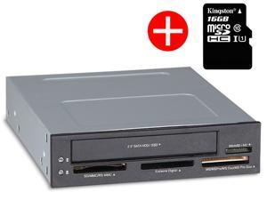 STW 3.5 inch Built-in card reader floppy disk trays box sata 2.5 inch pc desktop hard drive HDD Enclosure