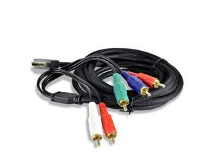 10FT High Performance Component HD Audio/Video Cable for Sony PlayStation 2